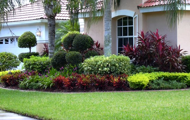 Landscaping garden design garden home cleaning for Home landscaping services