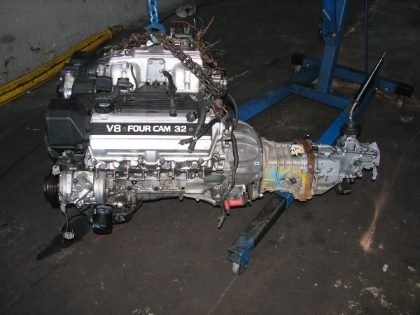 Lexus V8 with toyota gearbox kit