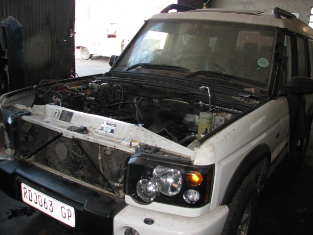 Land Rover Discovery Lexus V8 Conversion