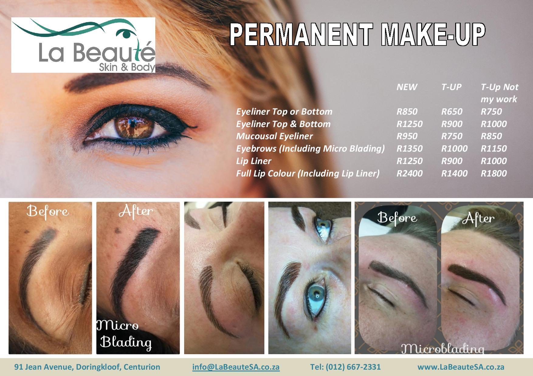 Permanent Makeup Pretoria Centurion Makeupview