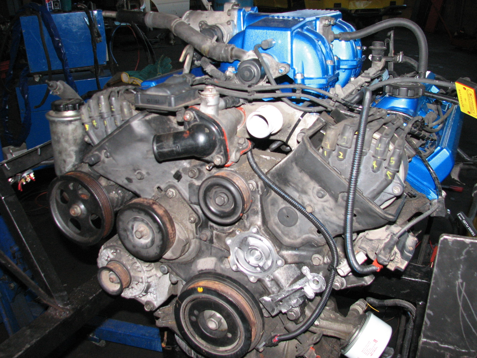 Lexus V8 Engine And Gearbox With Ecu And Tcu Complete Started ...