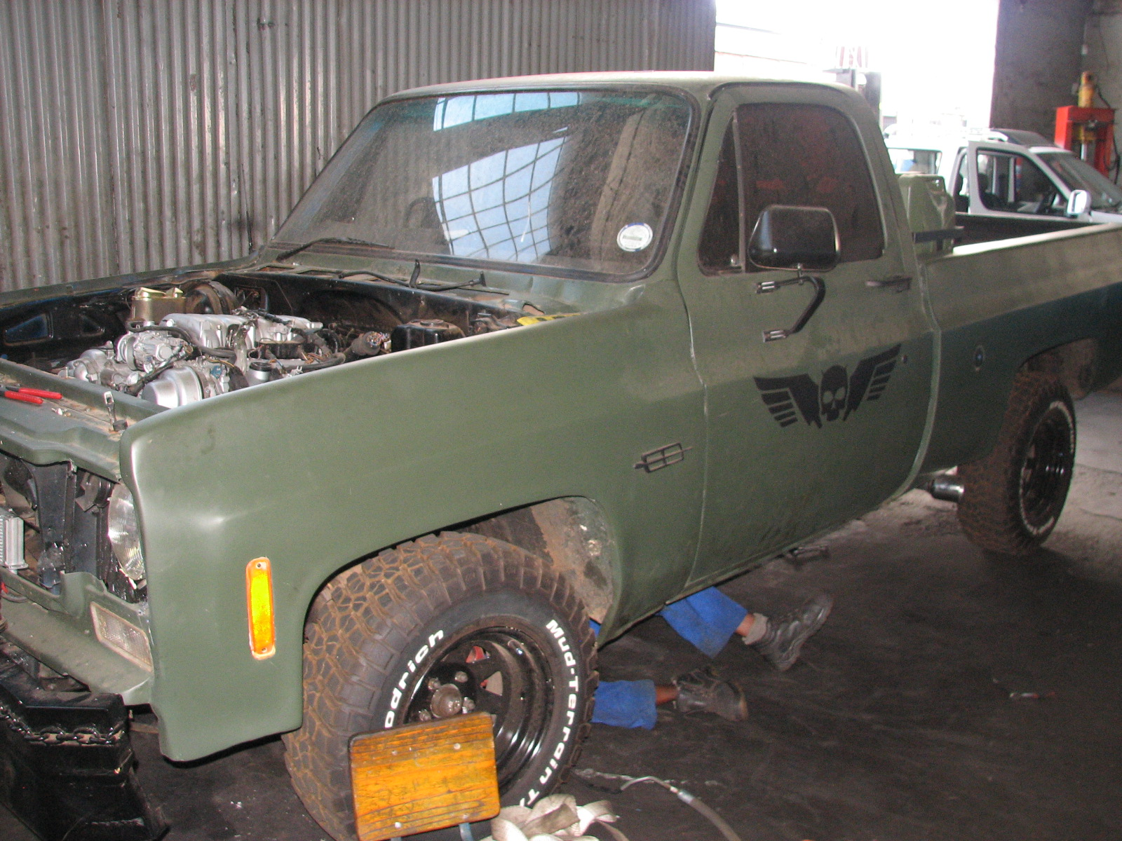 CHEV BAKKIE 1UZ VVTI CONVERSION