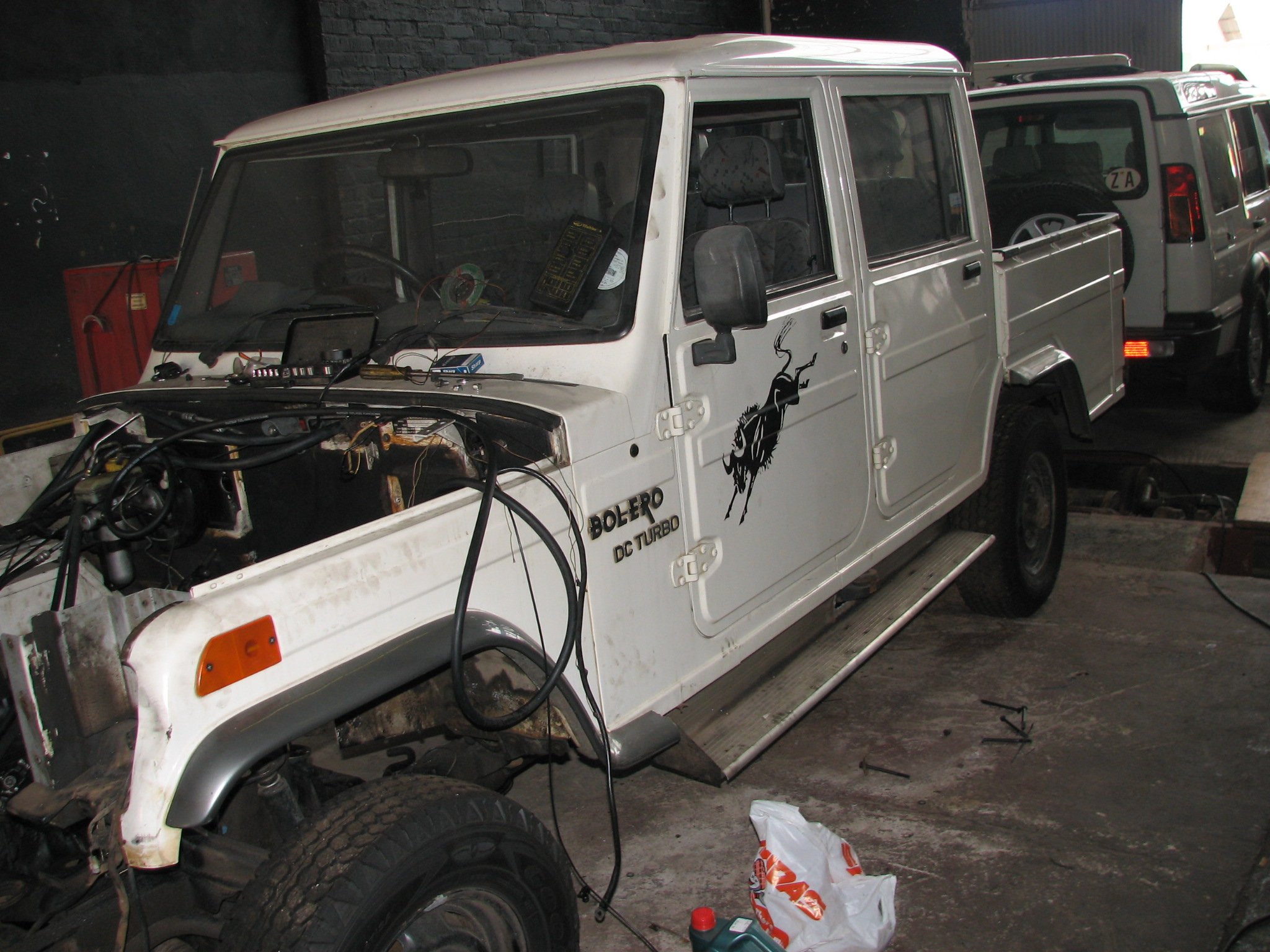 Balero Lexus V8 Conversion