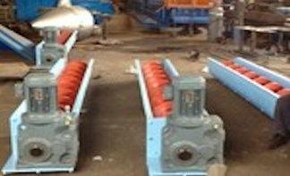 Shaftless Screw Conveyor Pulleys Bucket Elevators Vibrating